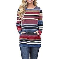 Hanomes Damen pullover, Frauen Langarm Solid Sweatshirt Pullover Tops Casual Bluse Sweatshirt preisvergleich bei billige-tabletten.eu