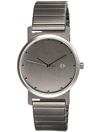 Botta 323211 - Reloj de caballero de cuarzo, correa de acero inoxidable color plata