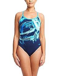 Zoggs Women's Tempo Sprintback Swimsuit