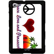 Funda para Samsung Galaxy Tab P6800 - La Paz, El Amor Y Pensacola by loki1982