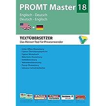 PROMT Master 18 Englisch-Deutsch/Deutsch-Englisch