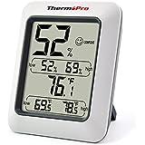 ThermoPro TP50 Termómetro Higrometro Digital Interior/Termohigrómetro Medidor para Habitacion Temperatura y Humedad Monitor