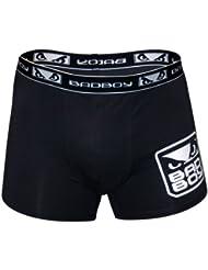 - Pantalones de boxeo para niño, color negro, talla S