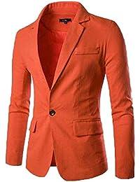 Blazer da Uomo Suit Blazer Elegante Business Casual Capispalla Taglie  Comode Giacca Moda Slim Fit Cappotto 17f15cbfc6c