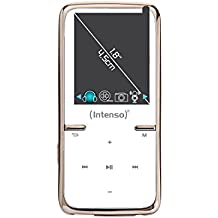 Intenso Scooter MP3-Videoplayer (4,5 cm (1,8 Zoll) Display inkl. 8GB micro SD-Karte) weiß