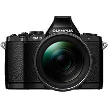 """Olympus OM-D E-M5 PRO - Cámara EVIL de 16 Mp (pantalla de 3"""", estabilizador de imagen, vídeo 1080p Full HD) Negro - kit con objetivo 12 - 40 mm f/2.8"""