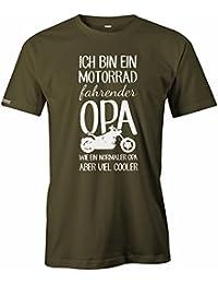 Ich bin ein Motorrad fahrender Opa - Herren T-Shirt