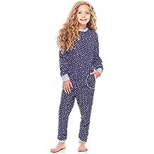 bba3a992aea Merry Style Pijama Entero 1 Pieza Vestido de Casa 100% Algodón Niña ...
