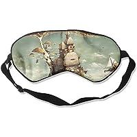 Sleep Eye Mask Mushroom House Lightweight Soft Blindfold Adjustable Head Strap Eyeshade Travel Eyepatch E12 preisvergleich bei billige-tabletten.eu