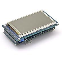 SainSmart - Pantalla LCD TFT de 3,2 pulgadas y placa shield TFT LCD para Arduino Mega 2560 UNO R3 Nano Robot