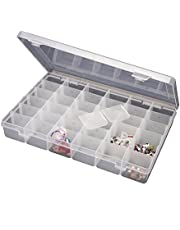 Bulfyss Multipurpose Plastic Jewellery Organizer(Transparent)