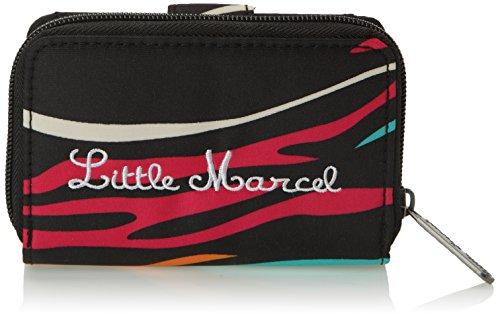 Little Marcel - Borsa Nagui Donna, Multicolore (Multicolore (Zebre))