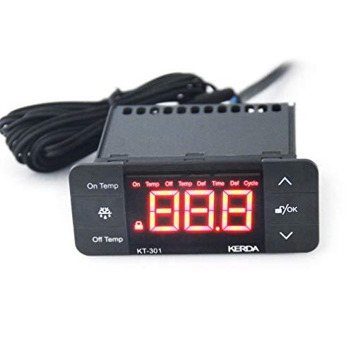 Lightleopard Controlador Temperatura KT-301 Termostato