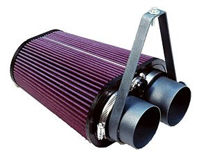 S&B Filters 75-2503 Cold Air Intake Kit for 1988-1995 Ford F150 / F250 / F350 (Cleanable Filter) by S&B Filters