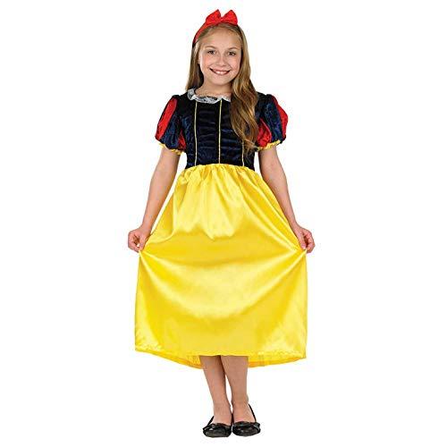 Fun Shack FNK2991M Kostüm, Girls, schneeweiß, m (Die Böse Königin Schneewittchen Kostüm)
