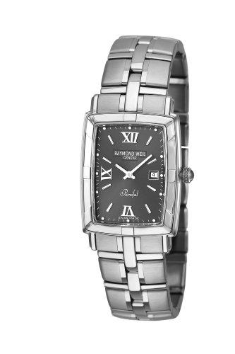 Raymond Weil Watches Parsifal 9341-ST-00607 - Reloj analógico de cuarzo para hombre, correa de acero inoxidable color plateado