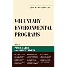 Voluntary Environmental Programs: A Policy Perspective (Studies in Public Policy)