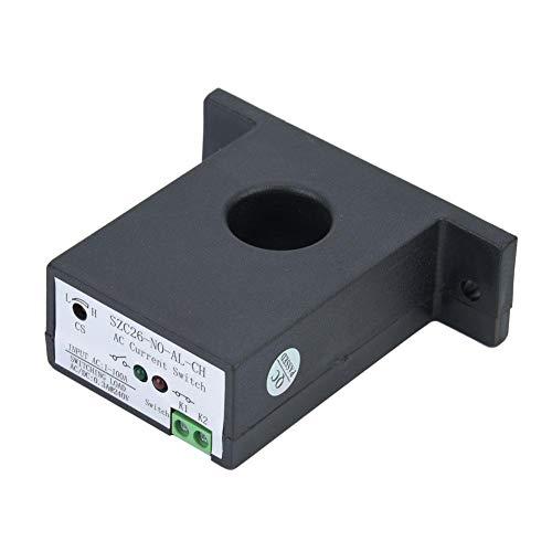 Stromschalter SZC26-NO-AL-CH Selbstzufuhr einstellbar normal offener Wechselstromsensorschalter AC 1-100 A für Automatisierungsindustrien mit Stromüberwachung Current Sensing Switch