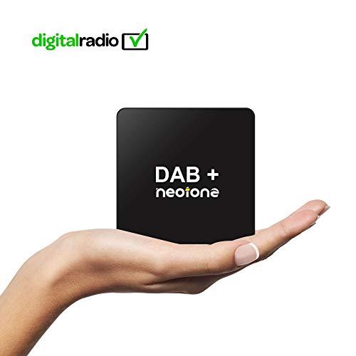 NEOTONE DRB-100X DAB+ Empfänger | Digital Audio Broadcasting | DAB+ Antenne für Android Autoradio | USB Anschluss | Deutsche Bedienungsanleitung | Universell | - Benz Verstärker Mercedes