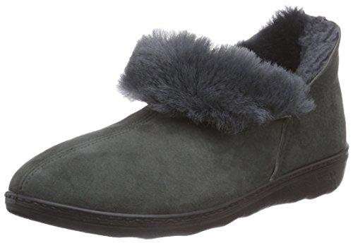 Romika - Romilastic 102, Pantofole A Casa da donna grigio (anthrazit 700)