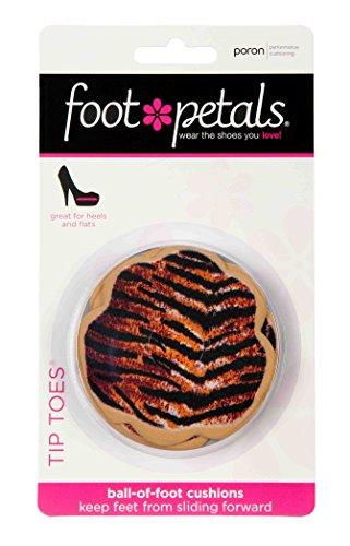 Spitze Zehen von Foot Petals – Ball of Foot Kissen Pad Einlegesohlen – 3  Paar –