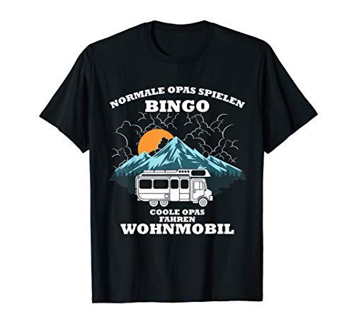 Coole Opas Fahren Wohnmobil T-Shirt - Für Camper Und Camping