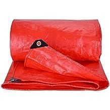Telo impermeabile Telo impermeabile Telo impermeabile Telo impermeabile Tenda da sole Protezione anti-età Cibo antipolvere Facile da piegare - 180 g / m2, Spessore 0,38 mm, rosso, 10 Dimensioni Opzionale (misura personalizzata)