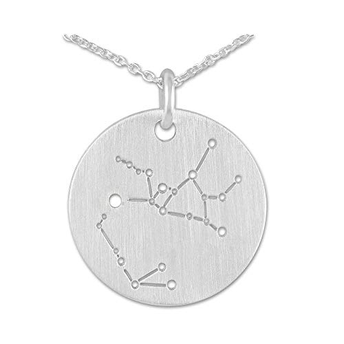 Silberwerk, Anhänger mit Silberkette, Mini Anhänger Sternzeichen Schütze mit Kette
