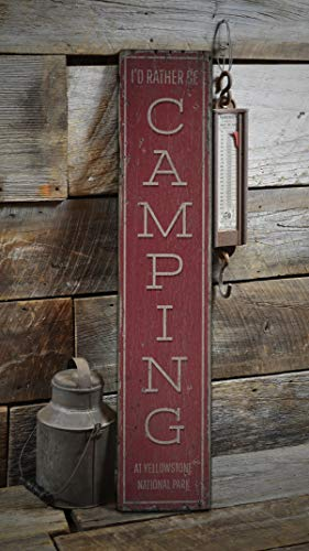 Burkeroan Gone Camping Sign, Outdoors Camping, Camp Decor, Wooden House Lodge, Outdoors Lover, Campfire, Hike, Rustic Plaque with Saying Wood Sign Decorations