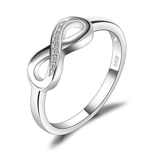 JewelryPalace Anillo infinito Amor Eterno