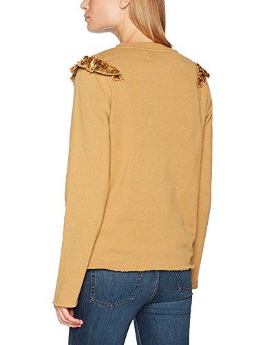 Leon & Harper Sabrosa, Sweat-Shirt Femme Beige (Camel)