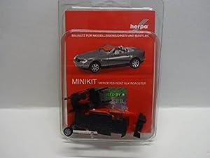 Herpa 012188-004 MB SLK Roadster Mini Kit, Rojo