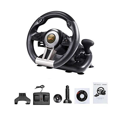 Rlorie Force Feedback Volante | Driving Force Volante da Corsa per PS4, PS3 e PC