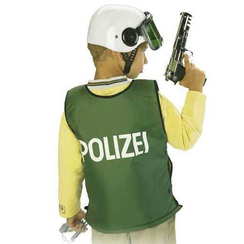 SALE Polizei Schutz Weste Kinder Kostüm Gr 140 (Kostüme Sale)