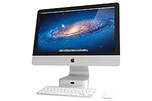 """Rain Design 10043 21.5"""" Blanc support d'écran plat pour bureau - supports d'écrans plats pour bureau (54,6 cm (21.5""""), 54,6 cm (21.5""""), Blanc, 105 mm, 180 mm, 23 mm)"""