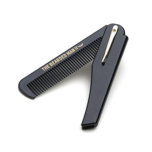 002 - The Bearded Man Company Gents Folding Beard Comb by The Bearded Man