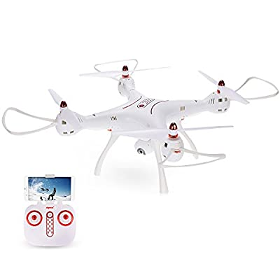 Goolsky Syma X8SW-D Adjustable 720P Camera Wifi FPV Drone Altitude Hold Headless Mode RC Quadcopter RTF from Goolsky