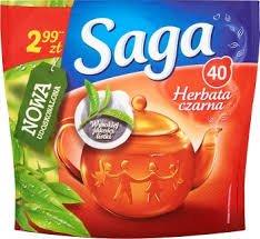 Saga Schwarzer Tee /// Herbata czarna (40 Beutel) 48g