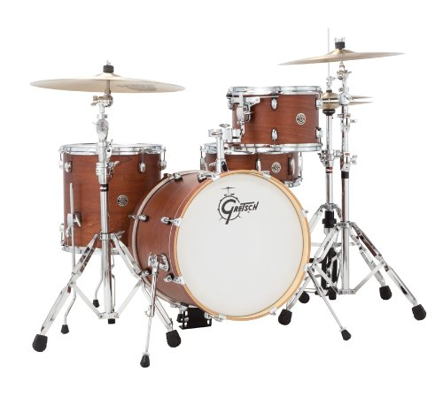 GRETSCH ct1j484swg 2014Catalina Club Jazz 4Shell Pack–Nussbaum satin Glasur (Drum Shell Pack)