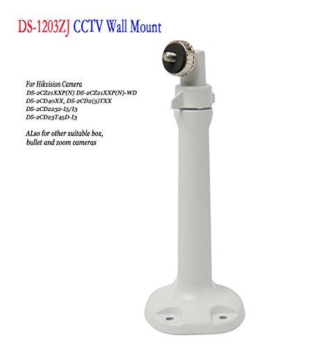 Bestga ds-1203zj BS Box Bullet Zoom Kamera Wandhalterung, Aluminium CCTV Sicherheit Ständer Zubehör Universal Pan Tilt Halterung für hikvsion Kamera ds-2cd2232-i5 ds-2cz21 X XP (N) und etc. (Pan-zoom-sicherheit Kamera)