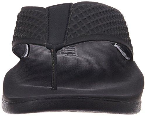 Adidas Men's Adilette Sc+ Thong Black Flip-Flops and House Slippers - 8 UK/India (42 EU) (S78048)