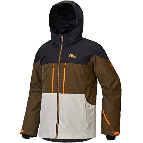 Picture Organic Clothing Herren Object Jacket, Kaki, L