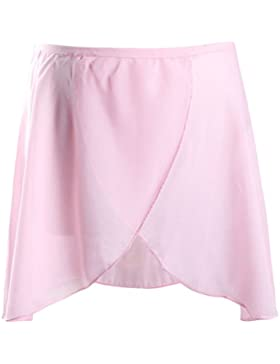 Zhhlinyuan Multicolor Kids Girls Ballet Skirt Clothes Cute Baby Chiffon Tutu Dancewear