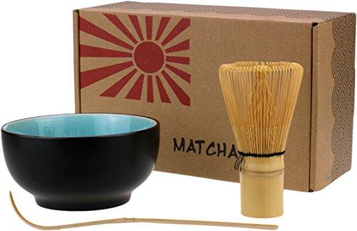 Urban Lifestyle set de bol de matcha, balai de matcha et cuillère de matcha \