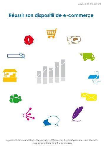 Couverture du livre Réussir son dispositif de e-commerce