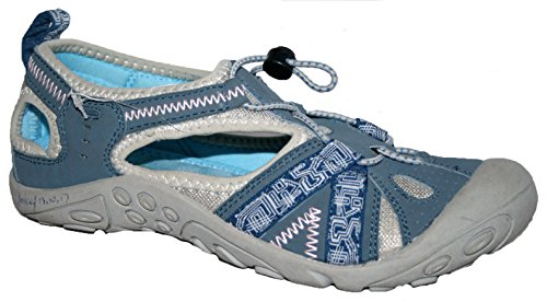 Northwest Territory, sandali da trekking Carolina per donne, ragazze e bambine, (BLUE), 36.5