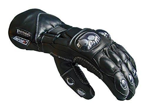 New Black Leder Biker Motorrad Motorcycle Wasserdichte Handschuhe