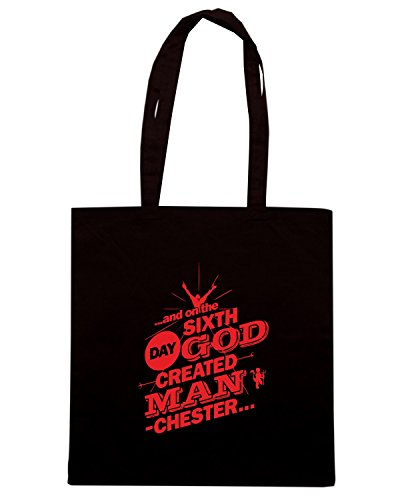T-Shirtshock - Borsa Shopping WC0599 THE SIXTH DAY - MUFC - RED Nero