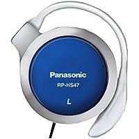 Panasonic RP HS47E-A Casque (contour d'oreille) Bleu (Import Royaume Uni)