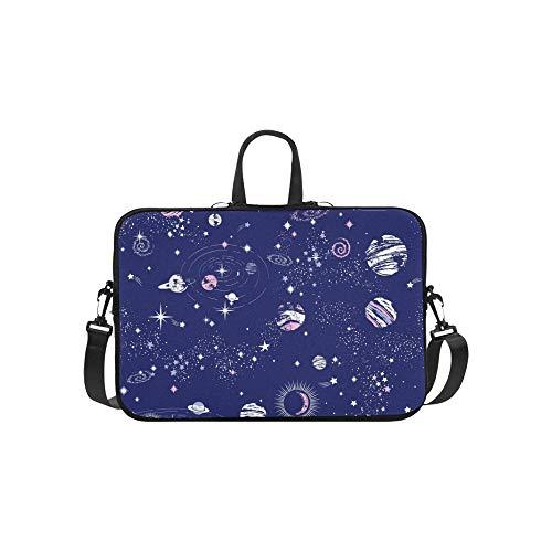 Space Galaxy Konstellation Print Aktentasche Laptoptasche Messenger Schulter Arbeitstasche Crossbody Handtasche Für Geschäftsreisen -